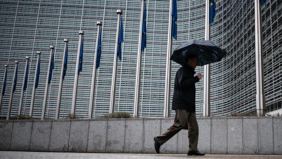 Hauptquartier der EU-Kommission in Brüssel: Reform der Steuer-Entscheidungen gilt als gescheitert