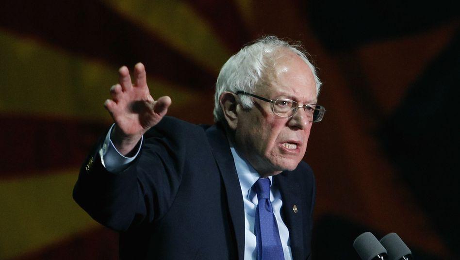 US-Demokrat Bernie Sanders in Phoenix, Arizona