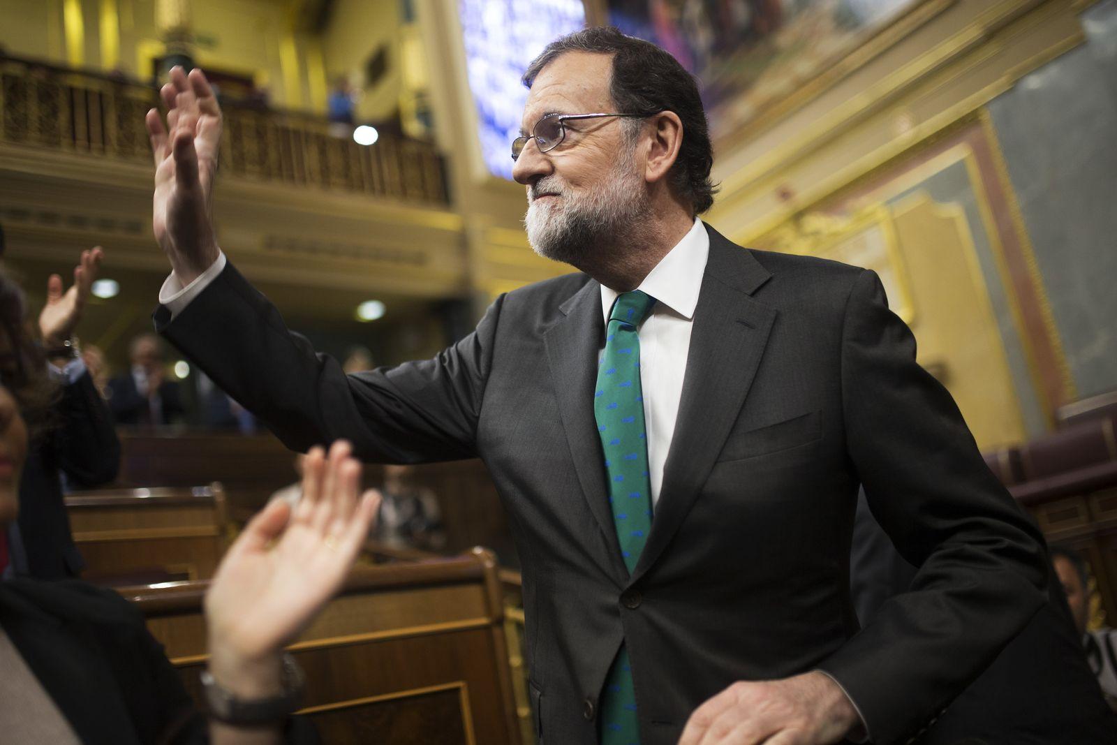 Misstrauensantrag gegen spanischen Ministerpräsidenten
