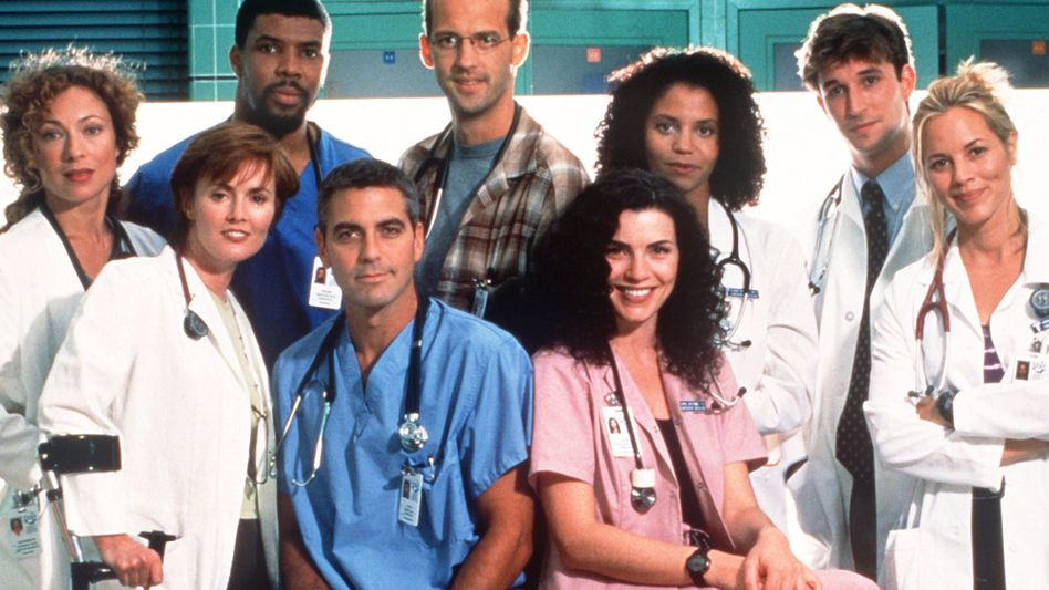 """TV-Serie """"Emergency Room"""": Aua! - Say it in in English, please!"""