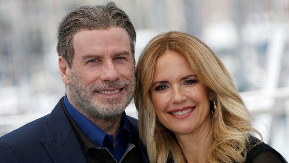 Kelly Preston und John Travolta im Jahr 2018: Die beiden Schauspieler waren seit 1991 verheiratet und hatten drei gemeinsame Kinder