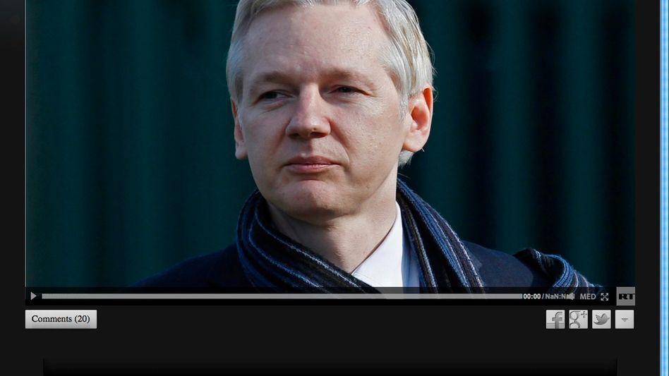 Assange-Werbung bei RT: Stichwortgeber für die Hisbollah
