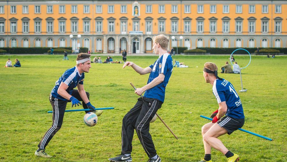 Studentisches Quidditch-Team: Immer dem goldenen Schnatz nach