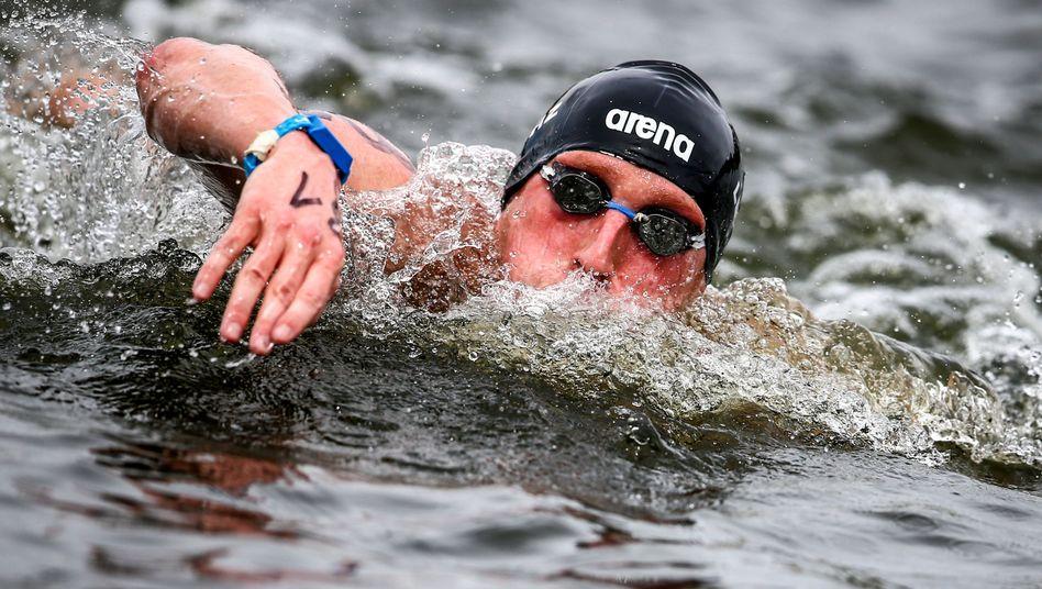 Schwimmer Lurz: Bronze auf der Regattastrecke