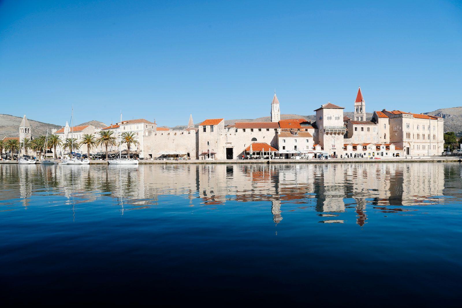 Reflection of Trogir Croatia