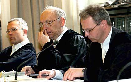 Konnten nicht überzeugen: Staatsanwälte Puls, Schröter, Negenborn