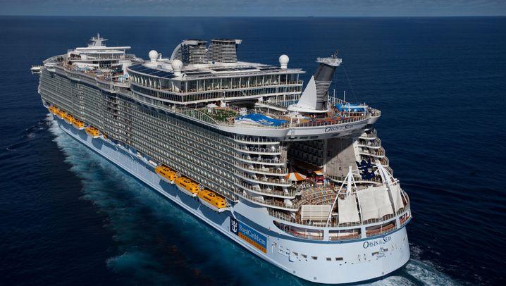 """""""Oasis of the Seas"""": Eine Tour durch das Megaschiff"""