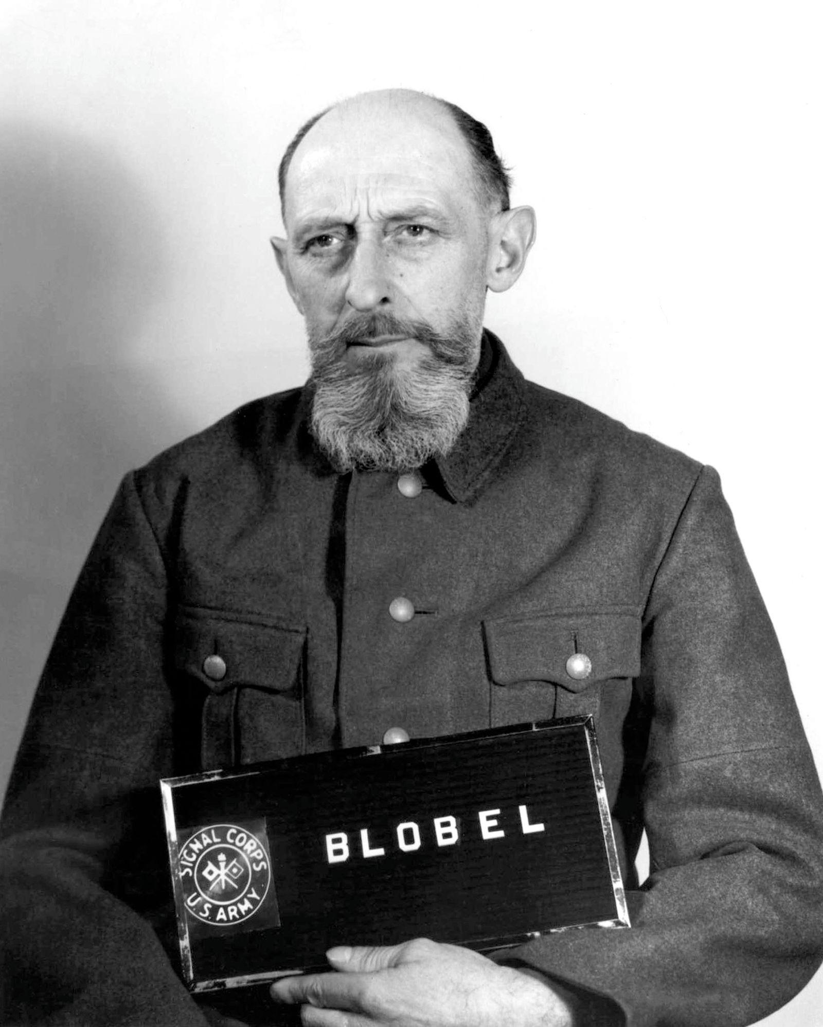 Germany / Russia: Paul Blobel (1894-1951), German war criminal and Nazi, 1948
