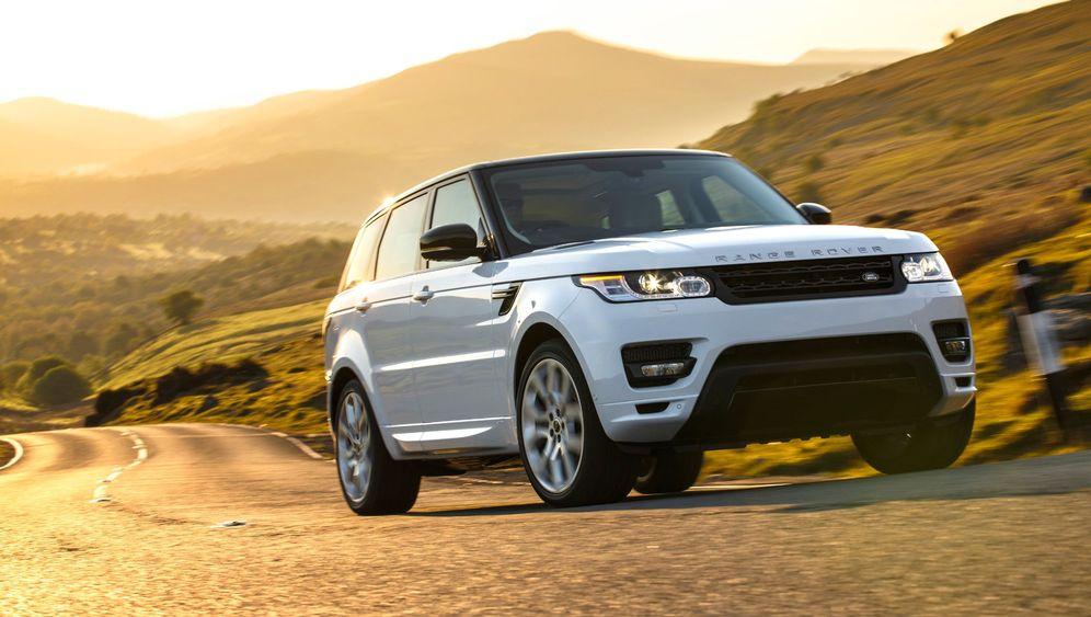 Range Rover Sport: Weg vom Dreck