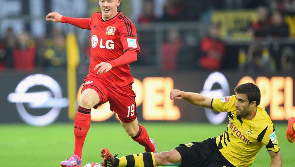 Bayer-Profi Brandt: Mit 17 Jahren in der Bundesliga debütiert