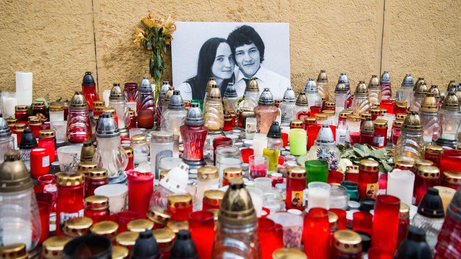 Trauer um Journalisten Jan Kuciak und seine Verlobte Martina Kusnirova