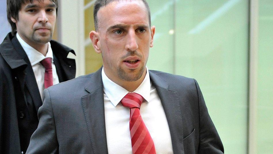 Bayern-Profi Ribéry: Urteil vier Tage vor dem Finale