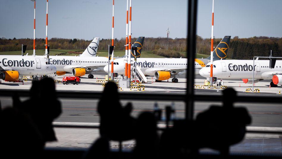 Flugzeuge von Condor: Umstrittene Hilfsgelder