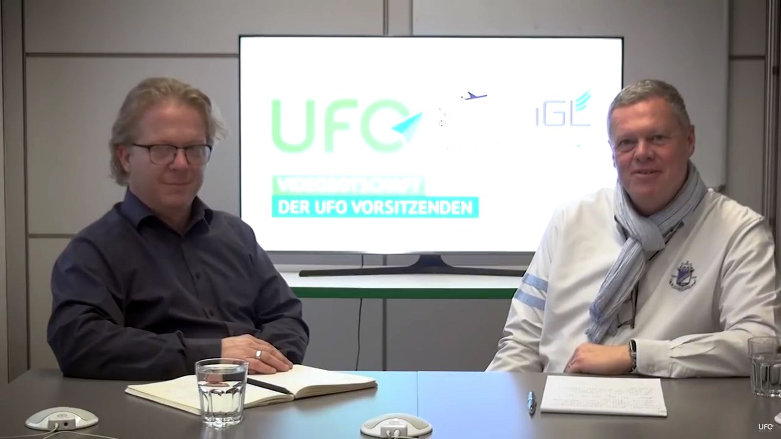 EINMALIGE VERWENDUNG NUR ALS ZITAT Videobotschaft der UFO-Vorsitzenden