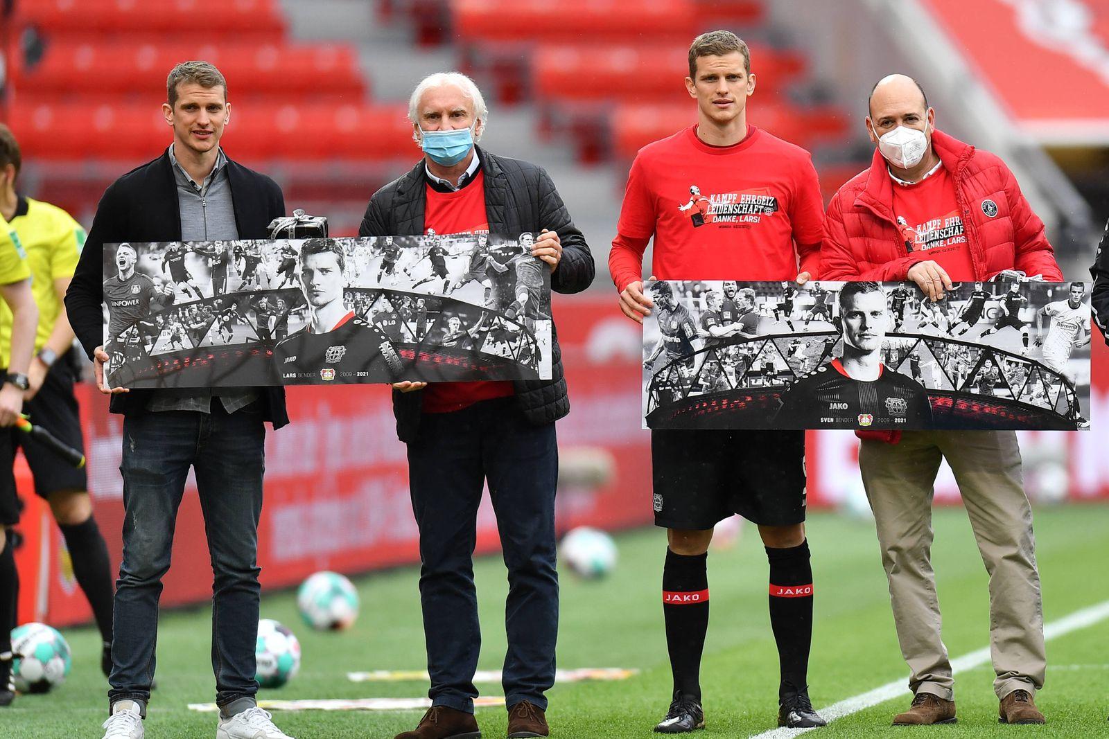Sport Bilder des Tages Fußball: 1. Bundesliga, Saison 2020/2021, 33. Spieltag, Bayer 04 Leverkusen gegen 1. FC Union Ber