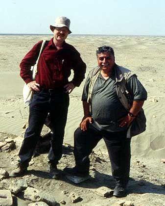 """Archäologe Müller-Karpe (l.) im Irak: """"Man hat die Probleme kommen sehen"""""""