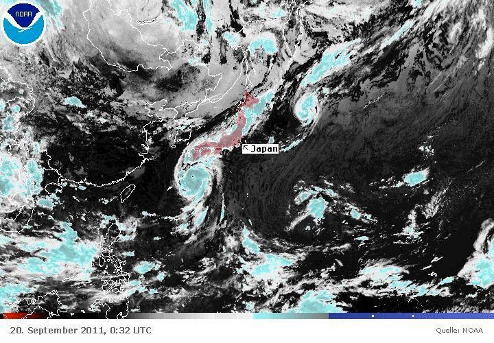 ANIMATED GIF - Taifun Roke - Japan