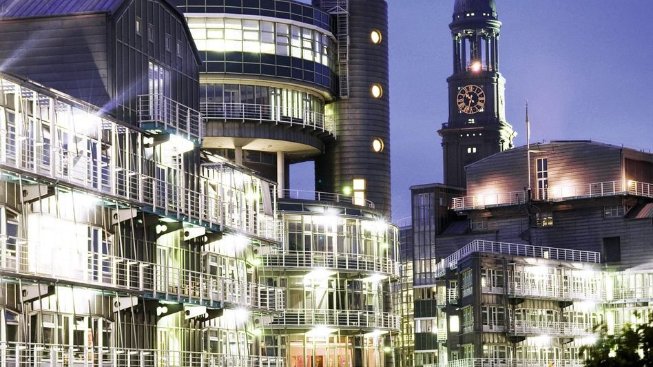 G+J-Zentrale in Hamburg