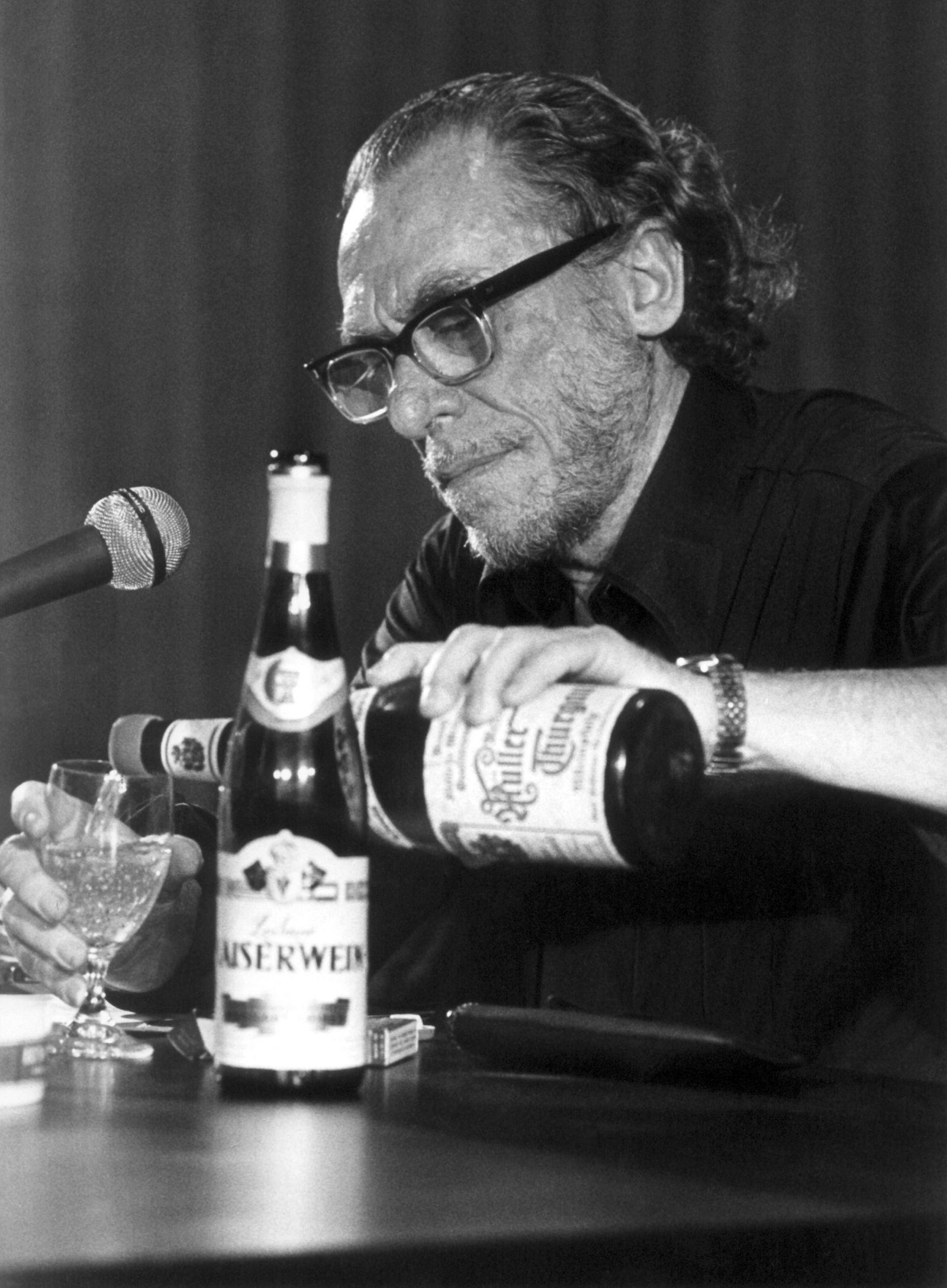 US-amerikanische Schriftsteller Bukowski