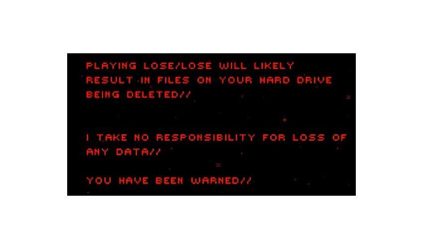 NUR ALS ZITAT Screenshot Spieletrend Permadeath / lose