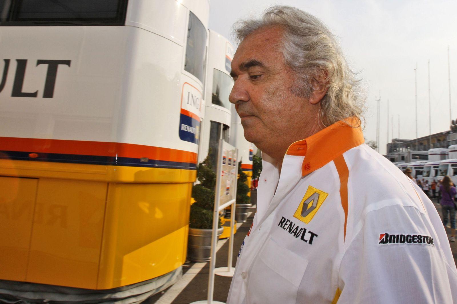 Briatore im Renault-Dress