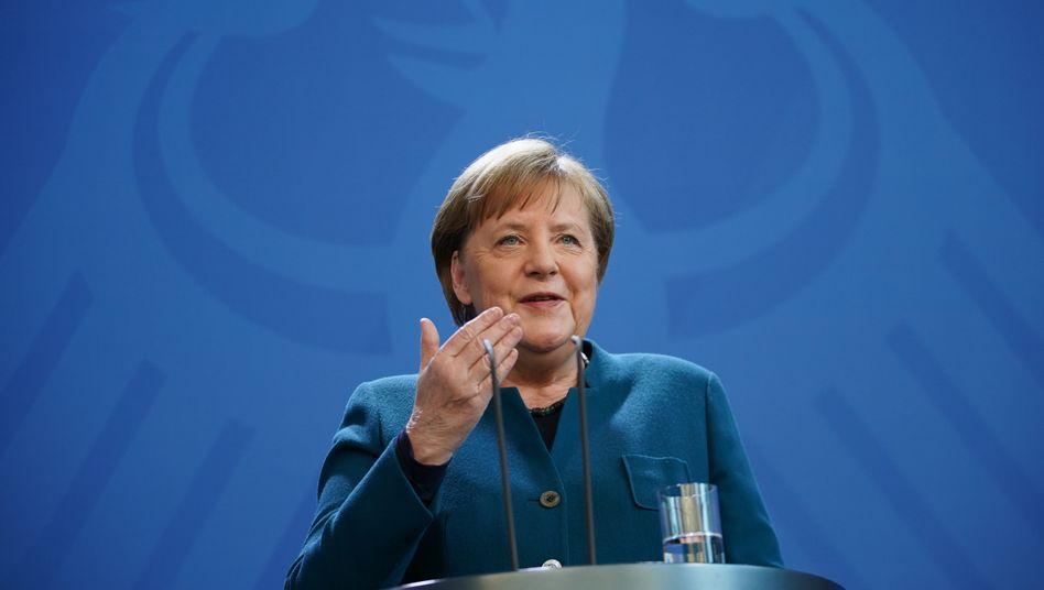"""Angela Merkel: """"Es wird auch wieder Osterfeste geben, an denen wir uns uneingeschränkt Frohe Ostern wünschen werden"""""""