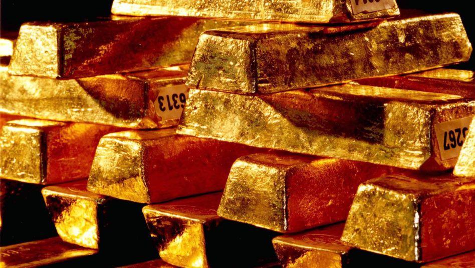 Goldvorräte der Bundesbank: Keine Bindung mehr ans Geld