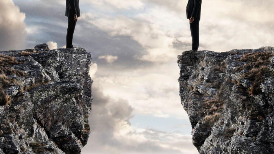Finden nicht zueinander: Personaler und Mitarbeiter