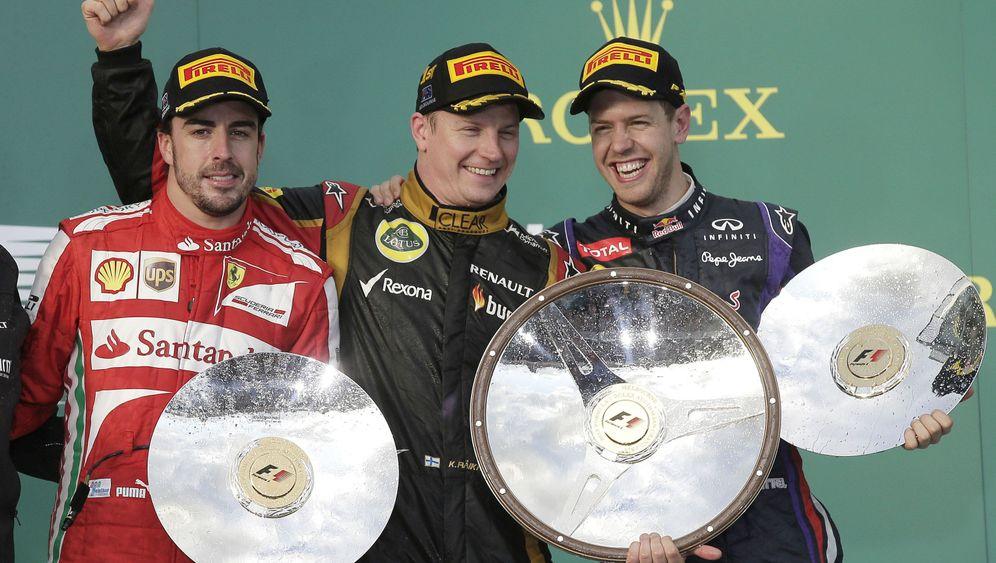 Von Australien bis Indien: Vettels Weg zum vierten Titel