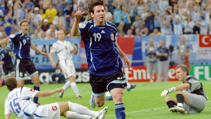 Messi in der argentinischen Nationalmannschaft: Der Unvollendete