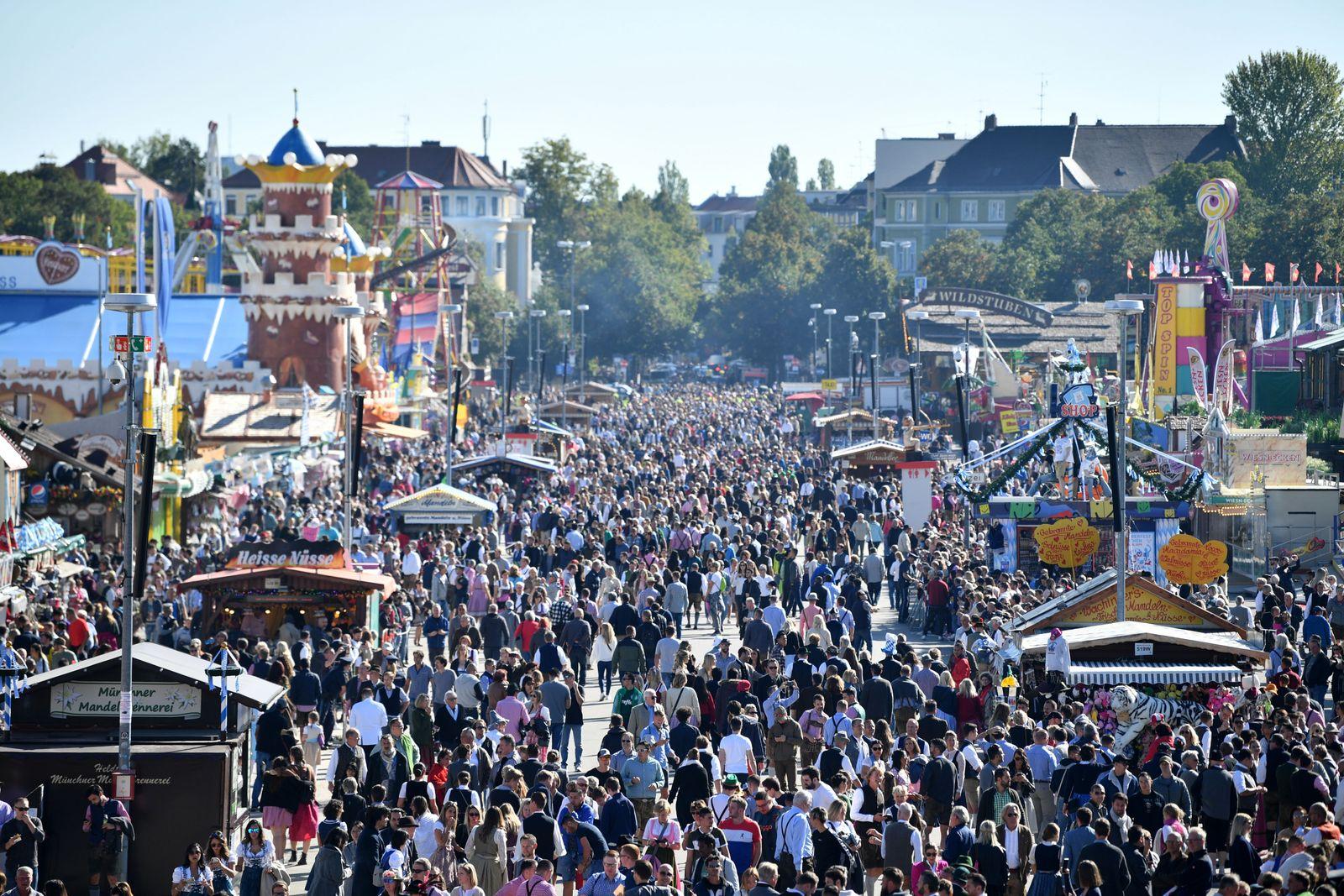 Germany's Oktoberfest cancelled amid coronavirus pandemic, Munich - 21 Sep 2019
