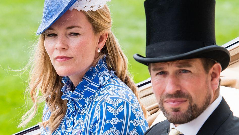 Autumn und Peter Phillips lassen sich scheiden. Das Bild zeigt sie beim Pferderennen in Ascot im Jahr 2018