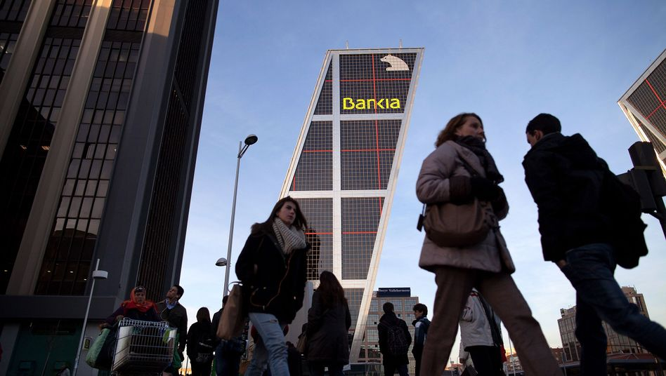 The Spanish financial institution Bankia remains in trouble.