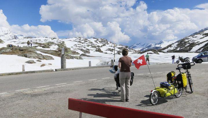 Alpen-Radtour: Vom Bodensee zum Lago Maggiore