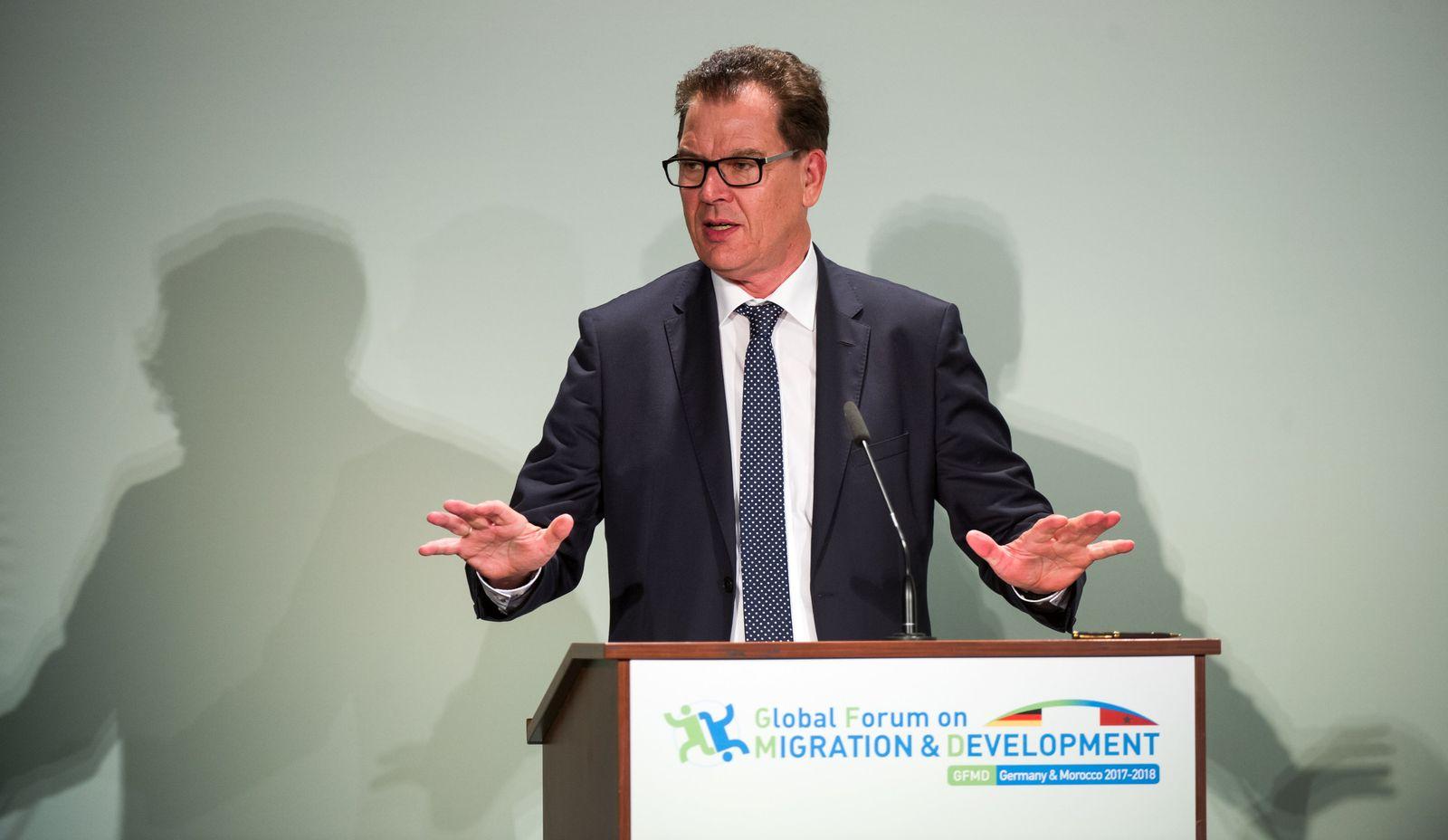 BMZ Entwicklungsminister Müller