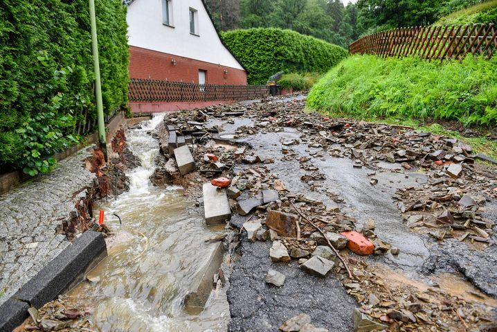 Unwetterschäden in Hagen