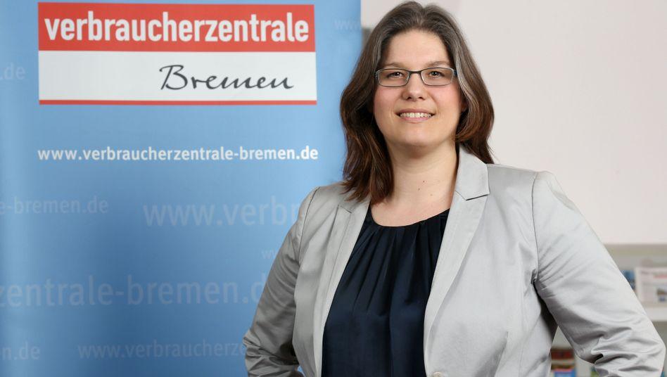 Die Chefin der Verbraucherzentrale Bremen Annabel Oelmann