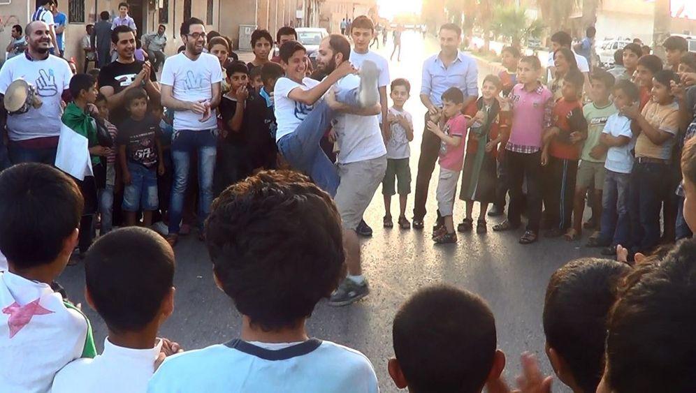 Fotostrecke: Capoeira für Flüchtlingskinder