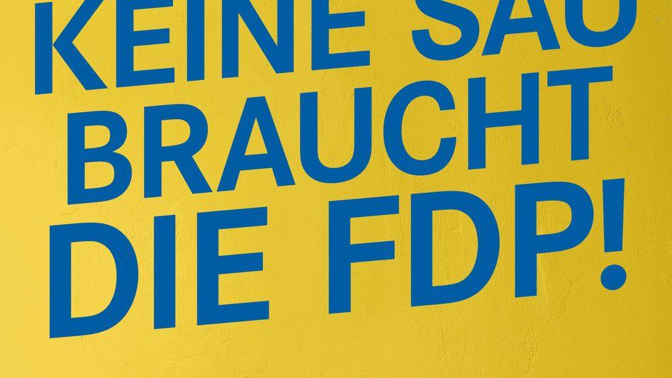 FDP-Slogan in Brandenburg: Liberale Verzweiflungsaktion vor Landtagswahl