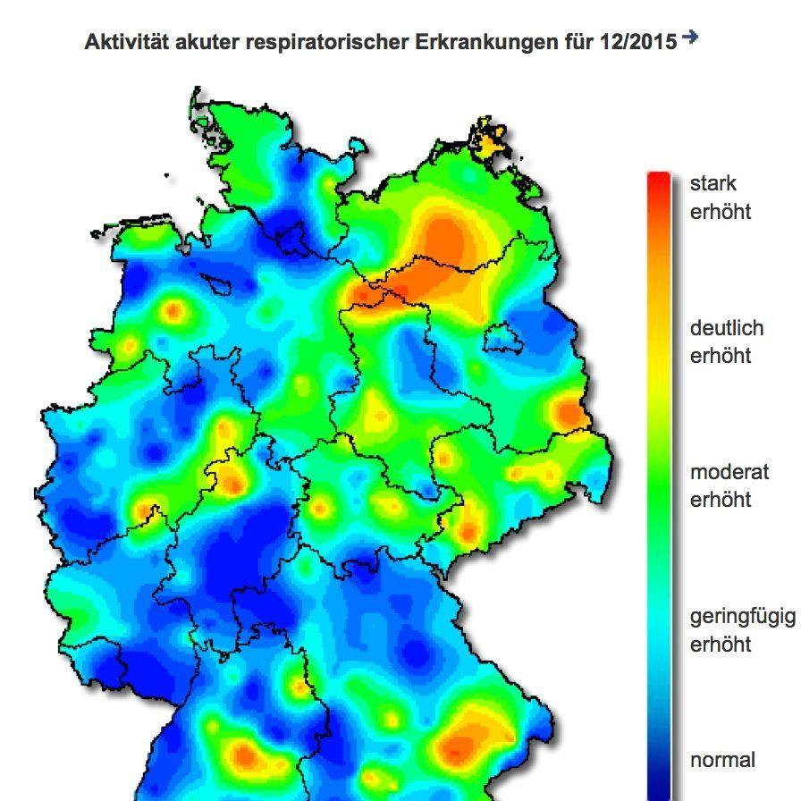 Grippe 60 000 Influenza Falle Welle In Deutschland Ebbt Ab Der