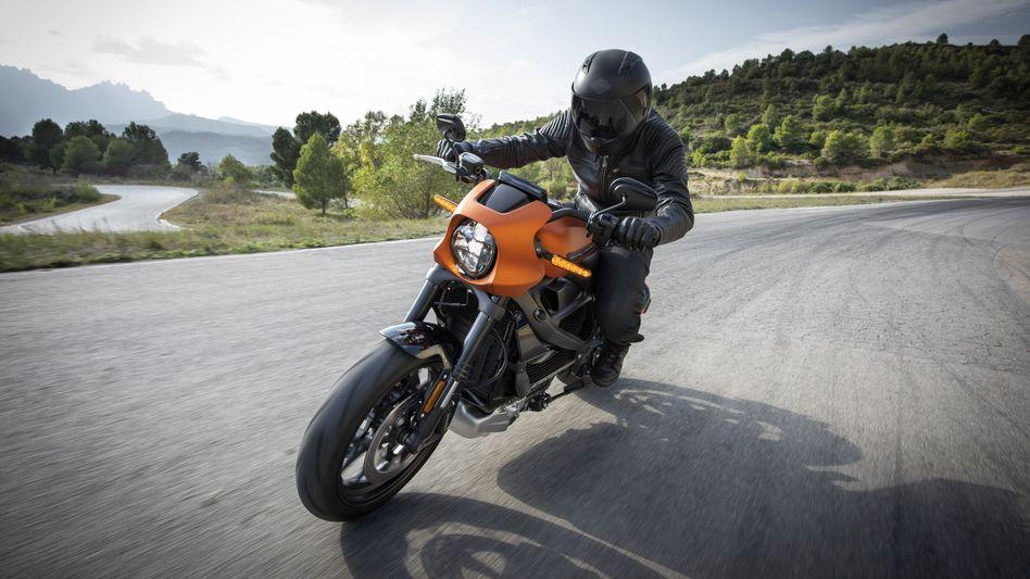 Elektromotorrad Harley LiveWire