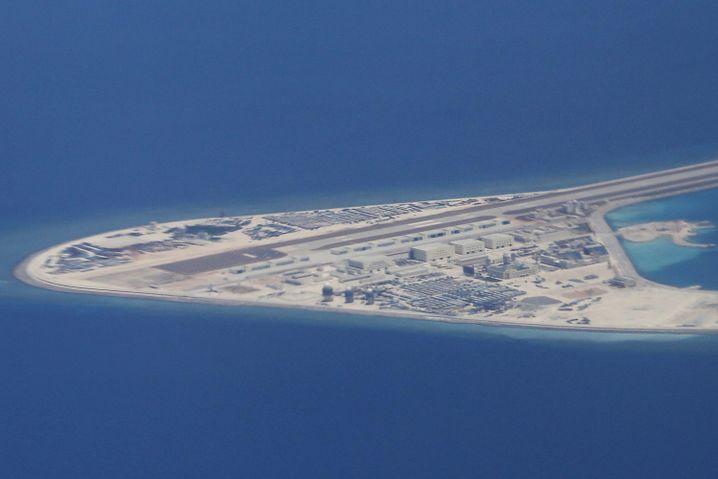 Subi-Atoll im Südchinesischen Meer