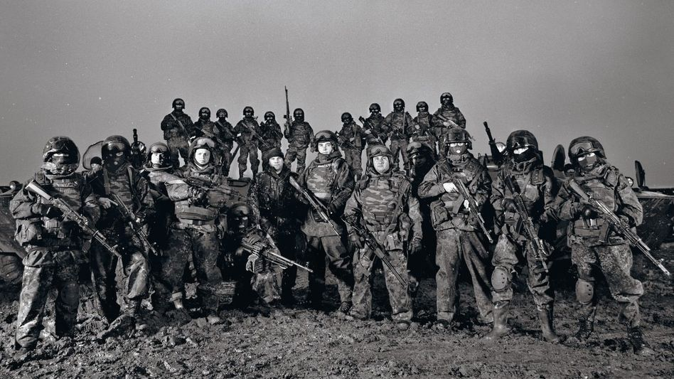 »Speznas«-Einheit in Inguschien