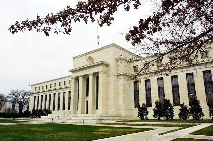 Rückkehr zur Normalität: Zentrale der Federal Reserve Bank in Washington