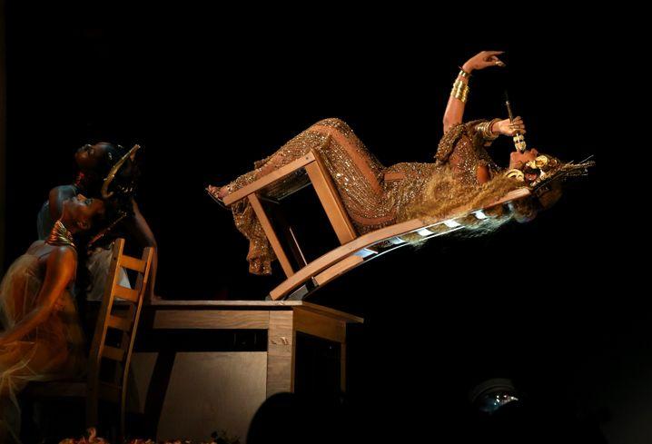 Beyoncé beim Grammy-Auftritt