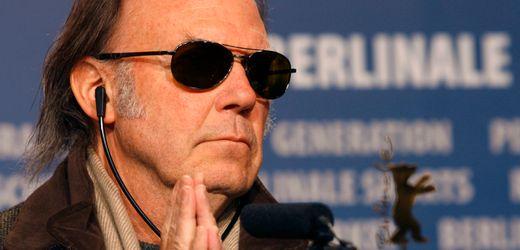 Neil Young verklagt Donald Trump wegen Verwendung seiner Songs