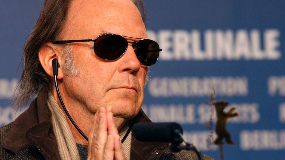 Neil Young ist Anhänger der Demokraten - dass Trump seine Songs verwendet, stört ihn schon lange