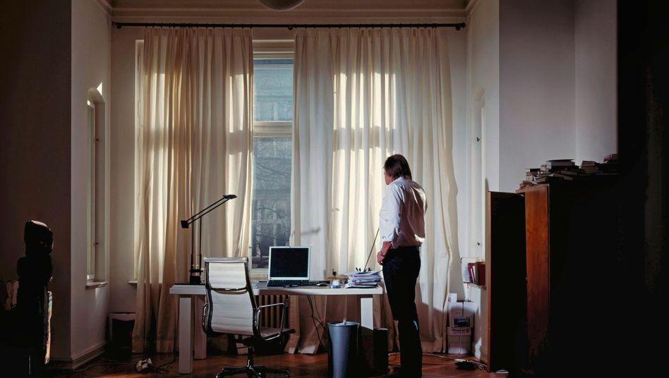»Bild«-Kolumnist Wagner in seiner Berliner Wohnung