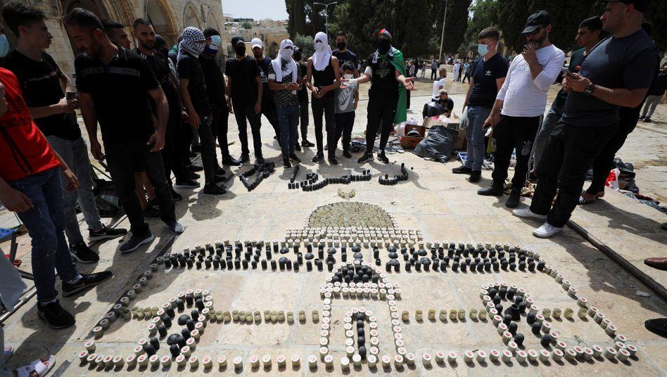 Felsendom aus Patronenhülsen: Palästinenserinnen und Palästinenser in Jerusalem