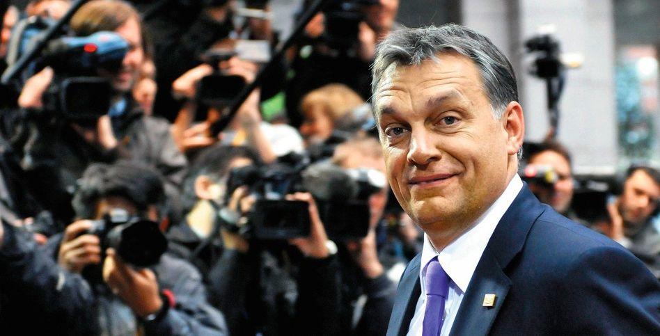 Regierungschef Orbán: »Frontalangriff auf die Meinungsfreiheit«